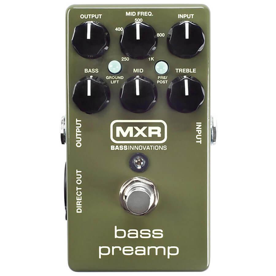 Pedal de de de Efectos MXR Bass Pre Amp  marcas de diseñadores baratos