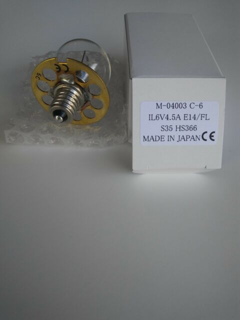 BX-900 E-14 FLNG BASE HS900-930 Bulb for HAAG STREIT BQ900 6V 4,5A 03 PK