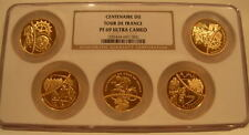 France 2003 Gold 20 Euro NGC PF-69UC Tour De France 5 Coin Proof Set