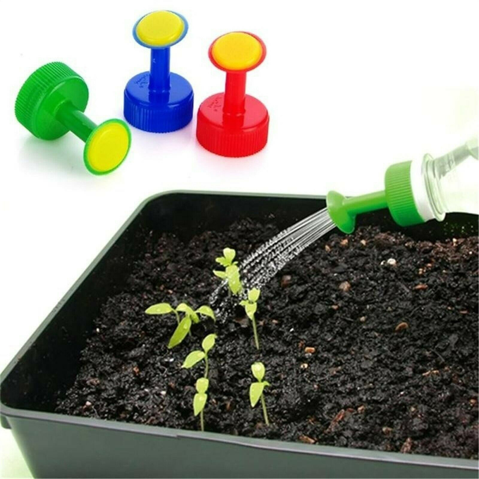 PVC Portable Watering Artifact Light And Fast For Vegetable Watering 3pcs/6pcs