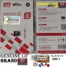 Genuine LD Brand 32GB 32 gb Micro Sd card TF Flash Memory Class10 MicroSd UHS-1