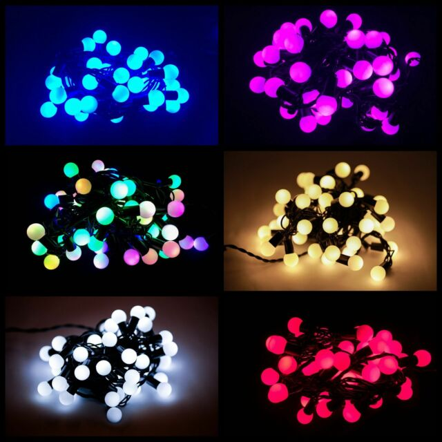 50/100 LED Berry Christmas Wedding Garden Party String Window Tree Lights 5M/10M