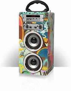 Kids-Portable-Karaoke-Machine-Bluetooth-MP3-Speaker-Mic-FM-Radio-Pure-Acoustics