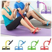 Resistance Gymnastic Band Yoga Latex Exercise Elastic Fitness Tube Workout Bands