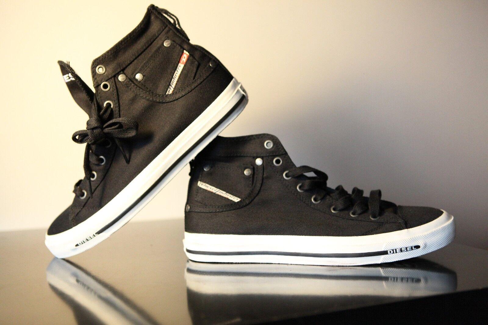 Diesel Exposure I Men Black shoes Size UK 9 EUR 43