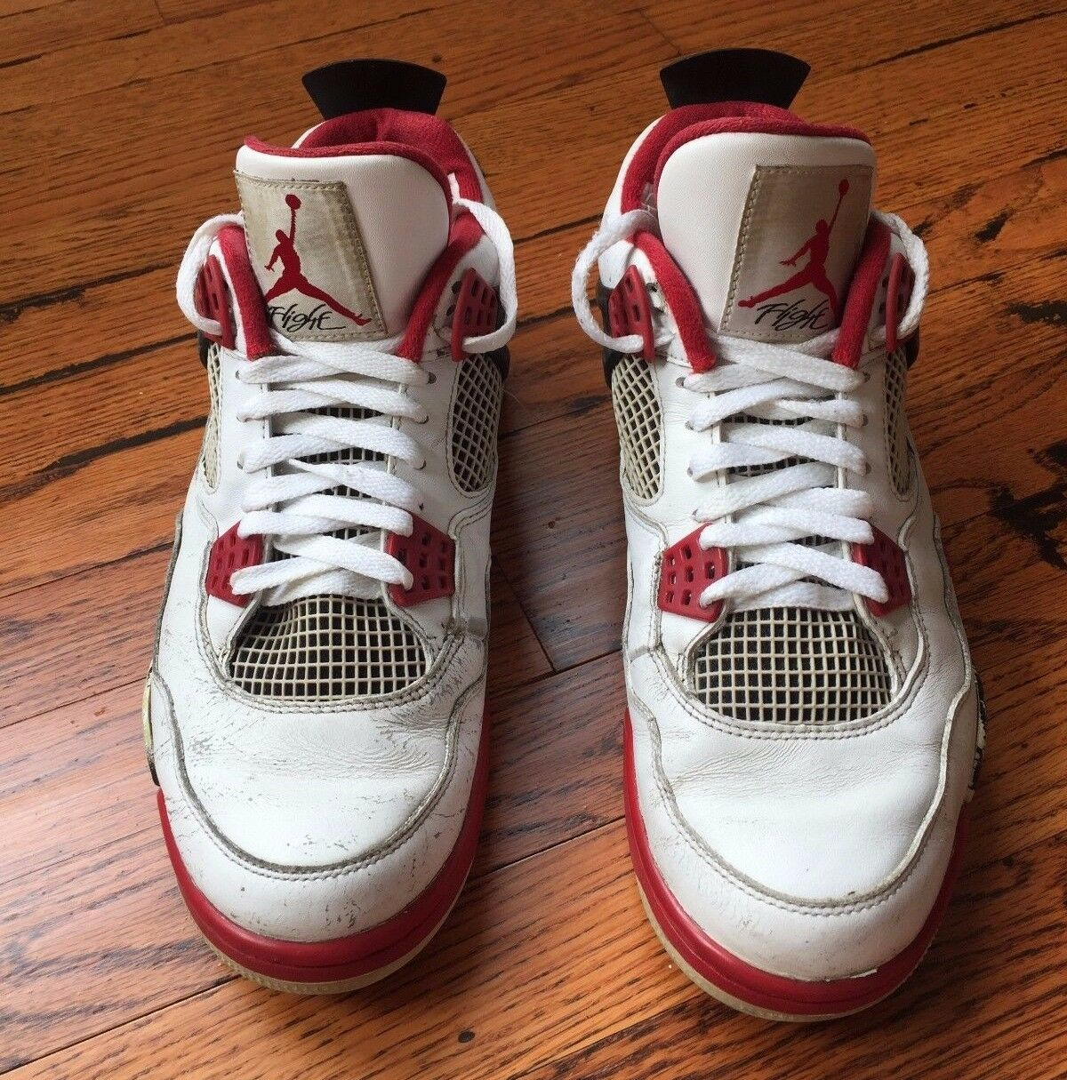 2012 Men's Air Jordan Retro IV Fire Red Price reduction Comfortable and good-looking