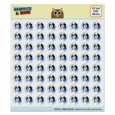*VINTAGE* Sandylion Glittery CHILD JESTER Scrapbooking Stickers *3 Square* H32