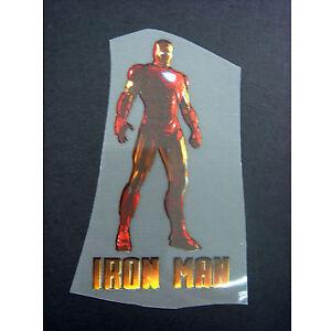 NEW-Ironman-Iron-Man-Iron-On-Transfer-T-Shirt-For-Fabrics-Pyjamas-Bag-GIFT