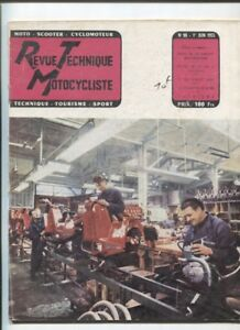 N°98 ; 1955 ; Etude Technique : 125 Cc Paloma / Motobecane 350 / Ariel Dcfeqkeq-07221402-707420065