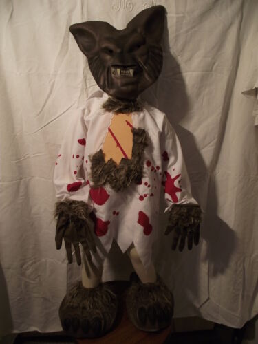 7//8 ANS NEUF Costume Carnaval Haloween LOUP GAROU