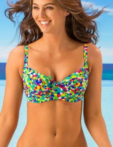 Pour Moi High Dive Balconette Underwired Bikini Top 73002 New Womens Swimwear