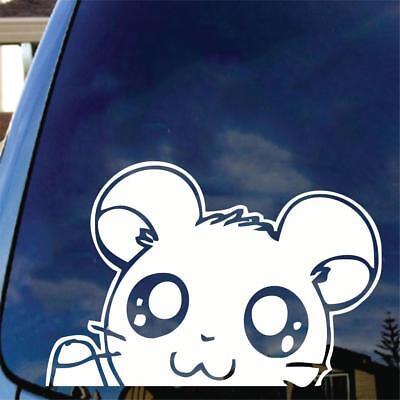 Hamtaro Vinyl Decal Sticker Hamster Anime Manga Japanamation Hamshir Car Laptop