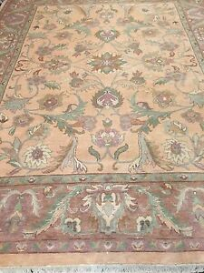 8 X 10 New Chinese Agra Oriental Rug Hand Made 100 Wool