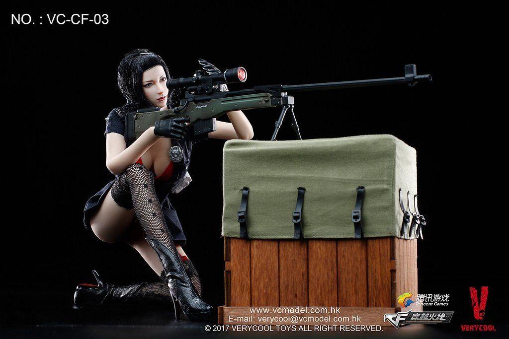 1 6 Phicen, Very Cool Crossfire-Defender of Fox Legend Female Action Figure Set