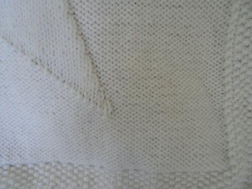 Easy knitting pattern baby blanket super star chunky