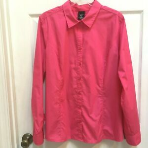 George-Women-039-s-size-20-Shirt-Pink-Long-Sleeves-Top