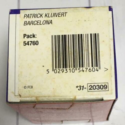 Corinthian ProStars Barcelona Version Messi Kluivert Larsson C9