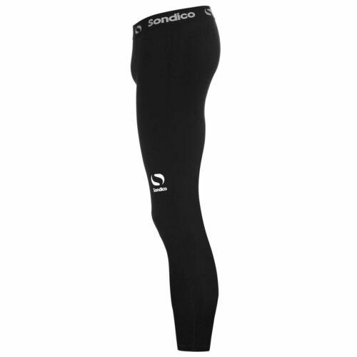 Sondico Mens Core Three Quarter Base Layer Tights Baselayer Pants Trousers
