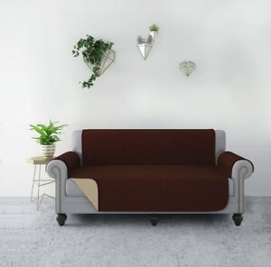 Details about RHF Reversible Sofa Cover, Couch Covers for 3 Cushion Couch,  Couch Covers for