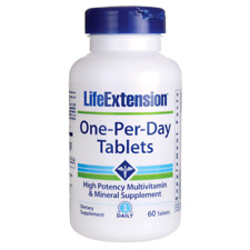 Life Extension One-per-day Tablets 60 Tabs