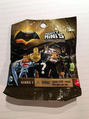 Series 1-2015 B6 Mini Figure Mighty Minis Batman v Superman Mattel