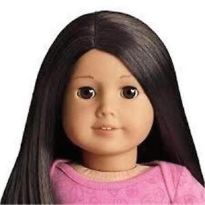 My-American-Girl-18-034-25-Doll-Light-Skin-Long-Black-Hair-Brown-Eyes-NEW-in-Box