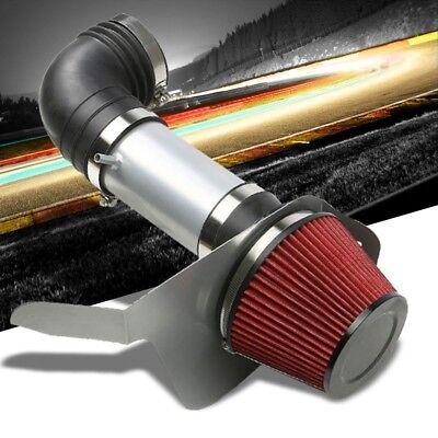 Cold Air Intake Kit Black Pipe+Filter+Heat Shield For Cadillac 06-07 CTS V V8