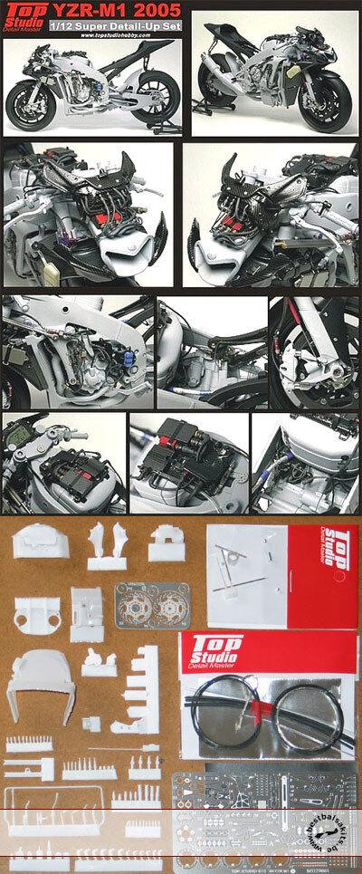 TRANSKIT DETAIL GRADE UP TAMIYA 1/12 YAMAHA YZR-M1 2005