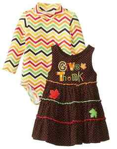 ebd2be139c1f3 Image is loading Bonnie-Jean-Baby-Girls-Holiday-Thanksgiving-Fall-Jumper-