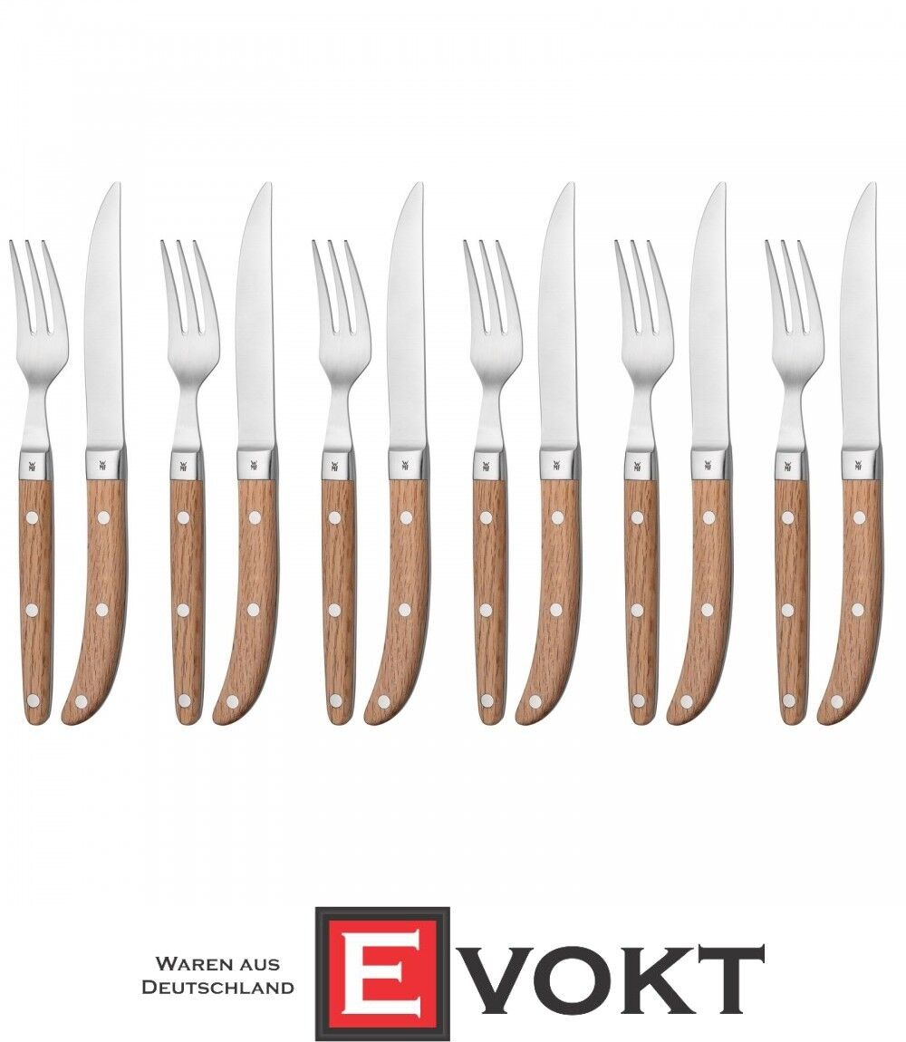 WMF Steak Cutlery 12 pieces for 6 persons Ranch Genuine New