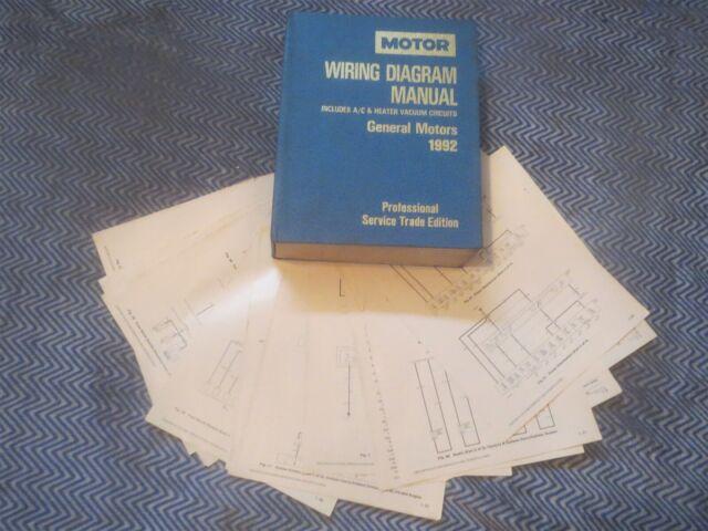 1992 GEO STORM WIRING DIAGRAMS SCHEMATICS SET | eBay