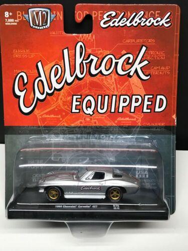 1:64 M2 Machines Drivers R70-1966 Chevrolet Corvette 427 Edelbrock