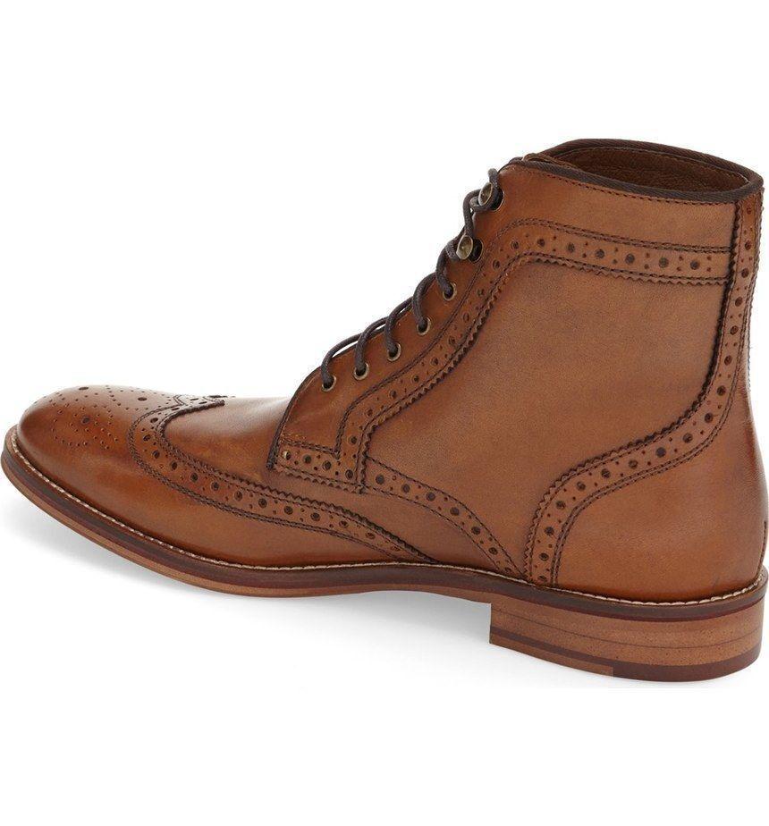 Herren Herren Herren NEW HANDMADE LEATHER Schuhe WINGTIP CHELSEA BROGUE FORMAL Schuhe d286bc