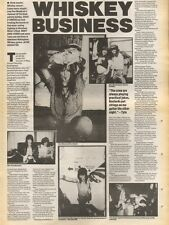 7/7/90 Pgn37 Article & Picture whiskey Business Dogs Damour Back Treading Boards