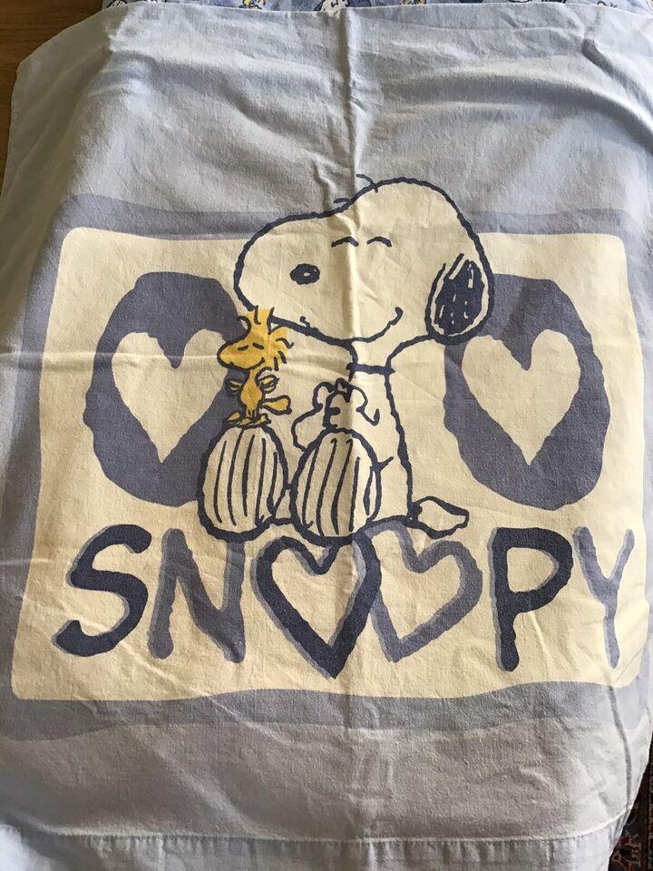 Sengetøj, Dyne&pudebetræk, Snoopy