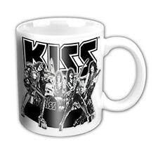 KISS - Graphite Band German Version - Tasse - Coffee Mug - Kaffeebecher - Neu