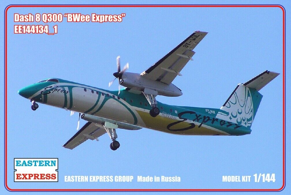 Eastern Express 1  144 Dash 8 Q300 BWee Express EE144134 undu