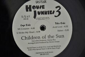 Children Of The Sun (9) – Eastside House Junkies 3 LP ES-H-J-003 VG+