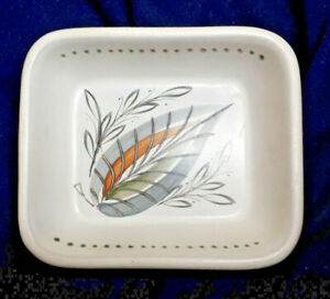 Vintage Denby Pottery Stoneware Hors d'oeuvre Dish, Circa 1960s