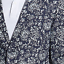 thumbnail 4 - Nautica Men's Modern-Fit Linen Sport Coat 40S Navy/Marine Floral Print NEW
