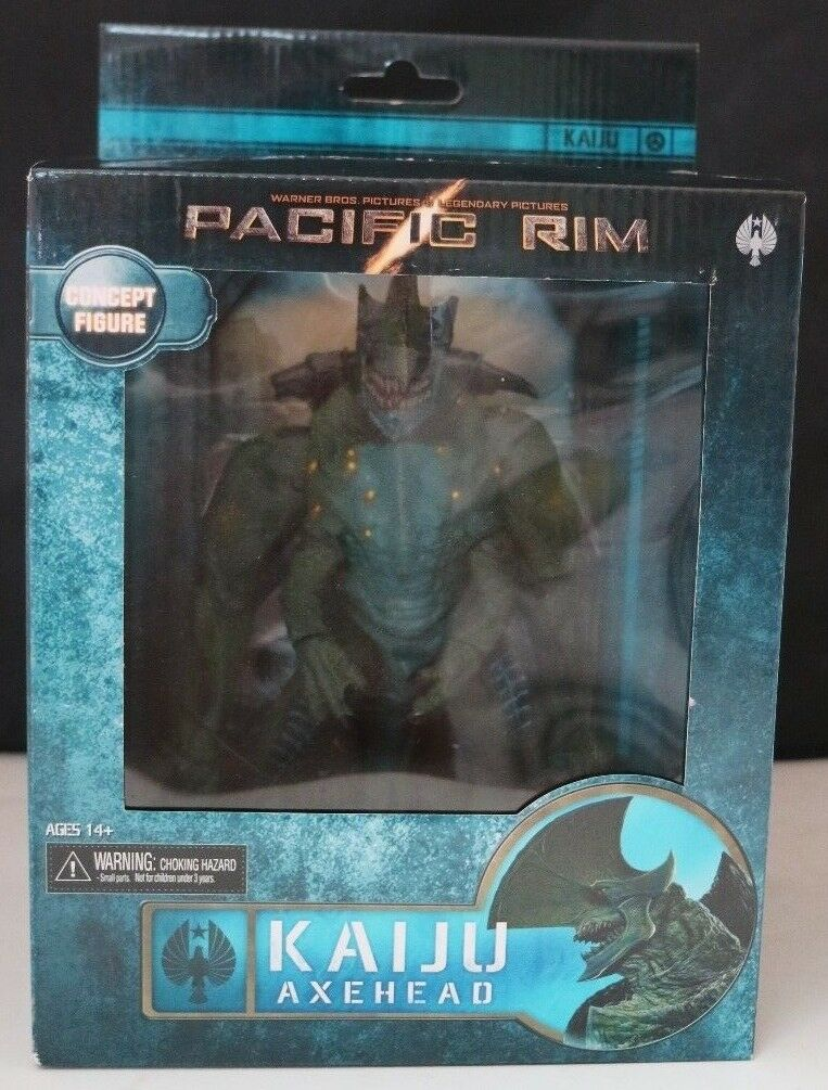 Pacific Rim Kaiju Axehead Concept Figure NECA RARE LOT B