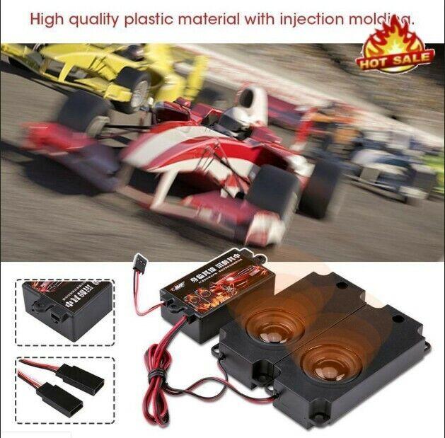 RC Car Truck Engine Sound Simulator Module Accelerator Linkage Kit Drift Cars