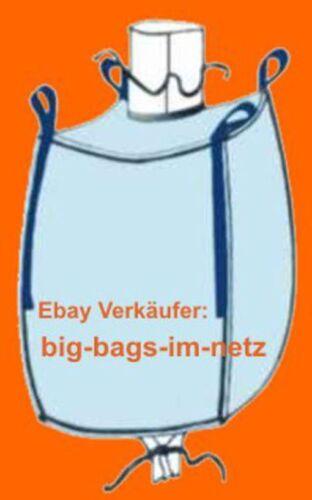 BIG BAG Bigbags Sack CONTAINER Verpackung FIBC Bags 1250kg Traglast * 5 Stk