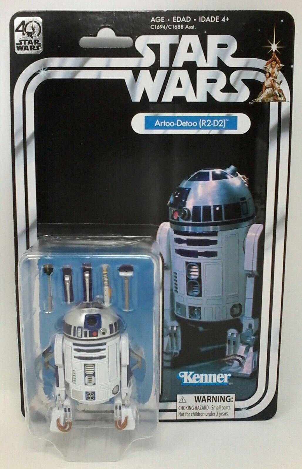 Kenner  estrella guerras 40th Anniversary Artoo-Detoo (R2-D2) cifra  buona qualità