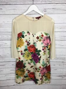d6dd9fbf0e12e Women s Ted Baker Dress - Size 2 UK10 - Floral - Great Condition