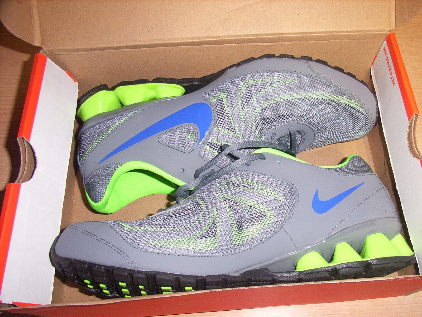 NIKE Reax Run 7 Herren Schuhe Turnschuhe Gr. 45 grün Schuhe Herren NEU 551d24