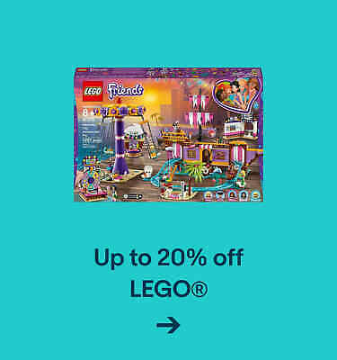 Up to 20% off LEGO®