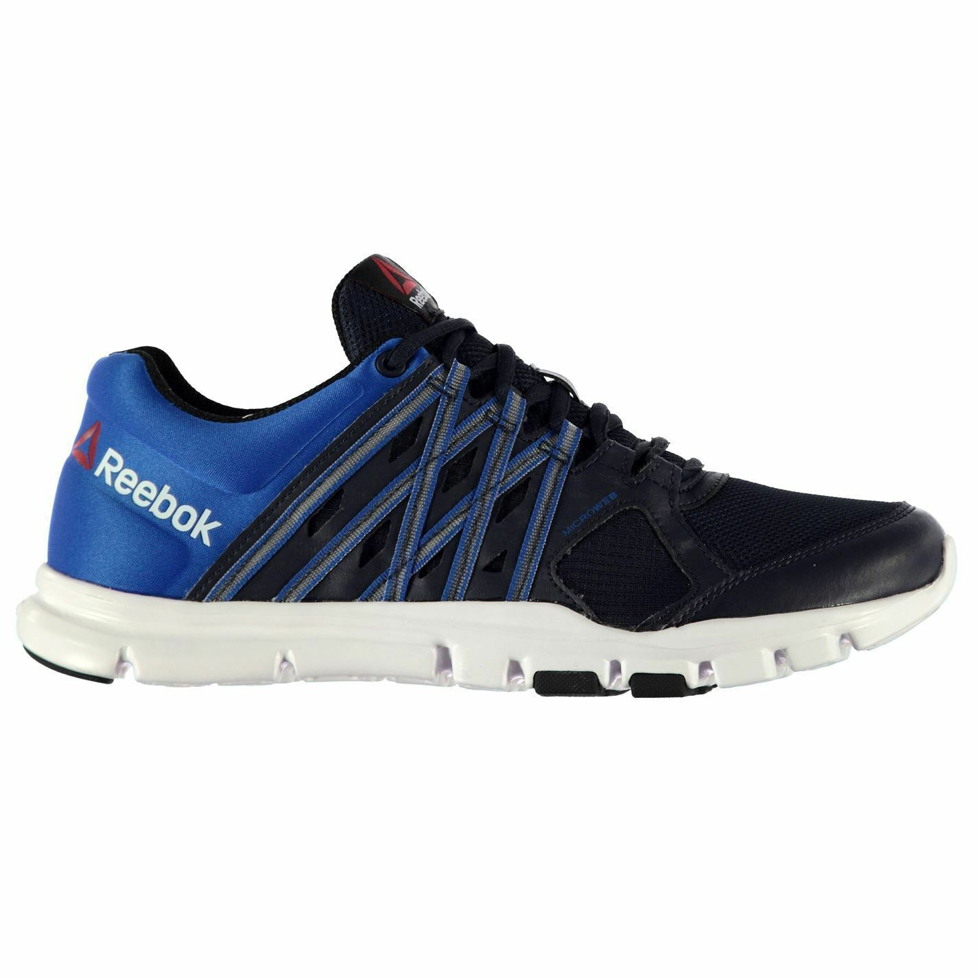 Reebok YourFlex 8 Trainers Mens Footwear Navy/Blue/White Sports Shoes Sneakers Footwear Mens 3307e8
