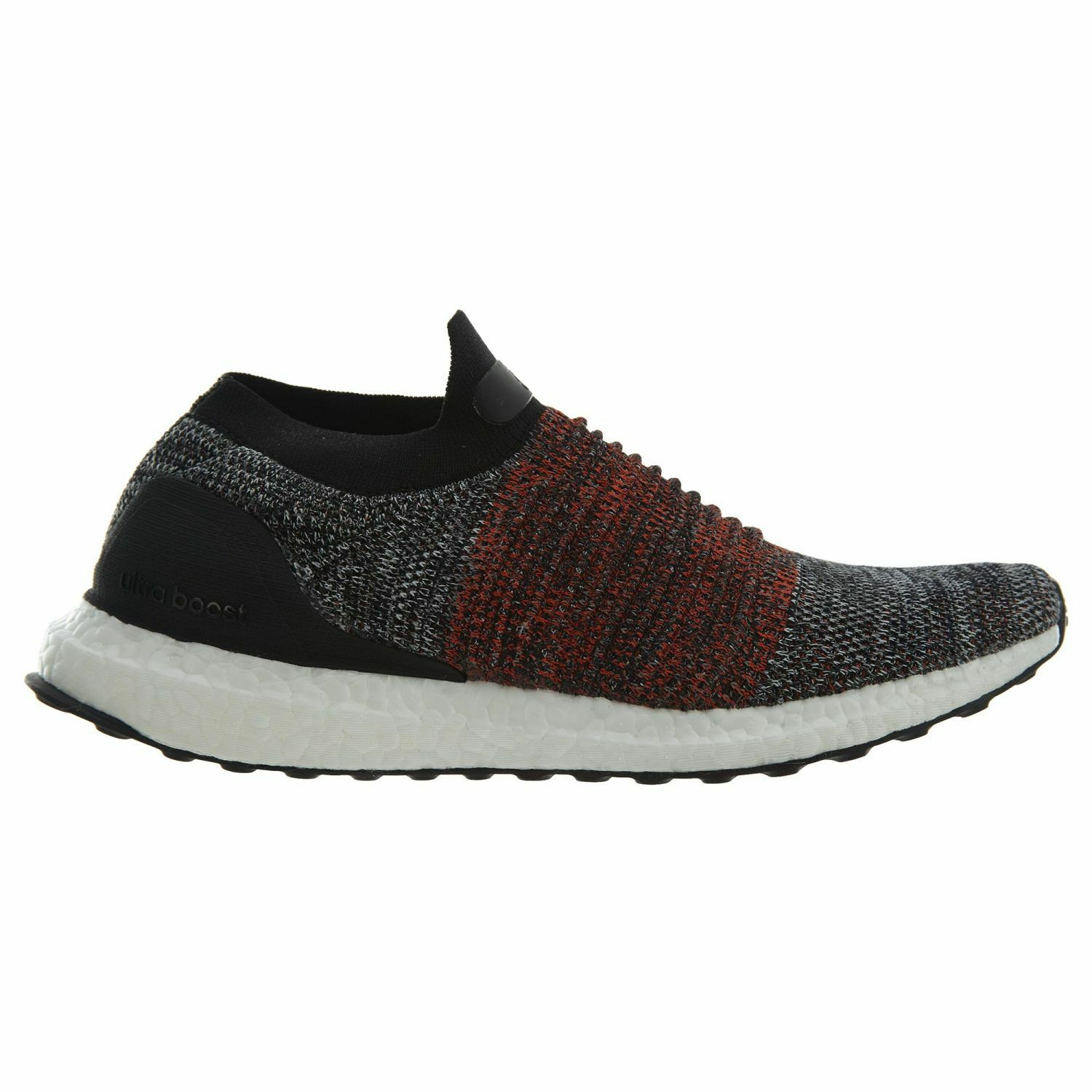 Adidas Ultra Boost Laceless Mens S80769 Black Primeknit Running shoes Size 10.5