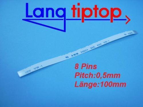 8 PIN AWM 20624 POWER CABLE BUTTON LAPTOP  B